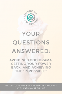"""Your-Questions-Answered:-Avoiding-Food-Drama,-Getting-Your-Power-Back,-and-Achieving-the-""""Impossible"""""""