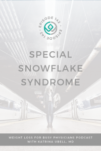 Special-Snowflake-Syndrome