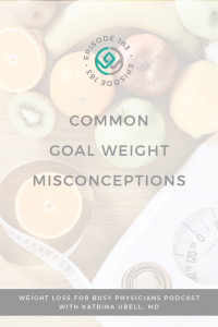 Common-Goal-Weight-Misconceptions
