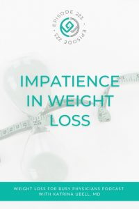 Impatience-in-Weight-Loss